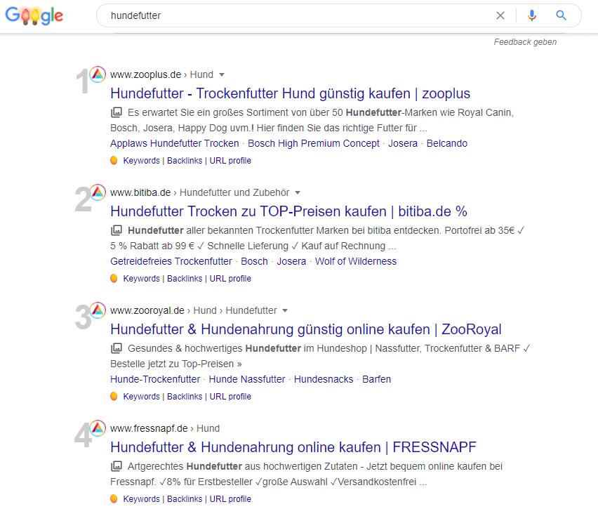 Google-Suche-Treffer_organisch